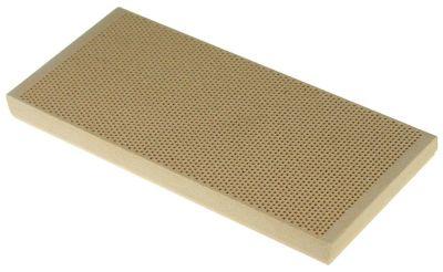 κεραμική πλάκα Μ 162mm W 73mm H 13mm για γκριλ γύρου