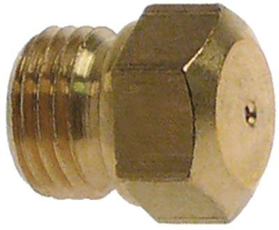 ακροφύσιο αερίου σπείρωμα M10x1  ΜΚ 11 εσωτερική ø 2.1mm φυσικό αέριο