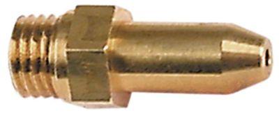 ακροφύσιο αερίου σπείρωμα M6x0,75  ΜΚ 7 εσωτερική ø 1,25mm
