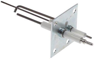 ηλεκτρόδιο ανάφλεξης μήκος φλάντζας 55mm πλάτος φλάντζας 55mm ø D1 9mm ø D2 7mm Μ1 119mm