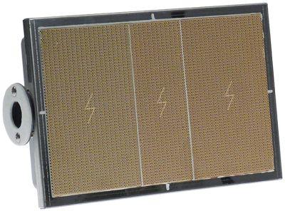 καυστήρας κεραμικός Μ 320mm W 210mm για γκριλ Blue Seal για συσκευή G91B