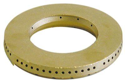 καπάκι καυστήρα ø 115mm ø αναγν. 64mm με κεντρική οπή θέση στερ. εξωτερικό 6kW