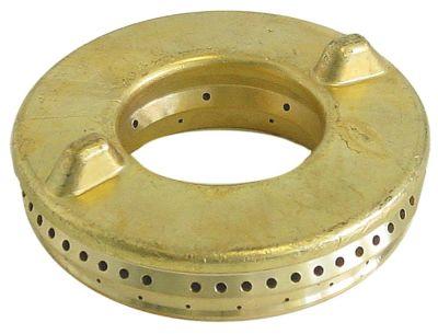 καπάκι καυστήρα ΕΞ. ø 115mm H 29mm με κεντρική οπή ø 57mm