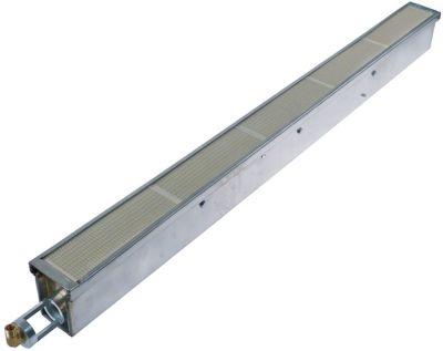 καυστήρας κεραμικός Μ 900mm W 67mm εύρος πυροδότησης 875x52 mm 5300W