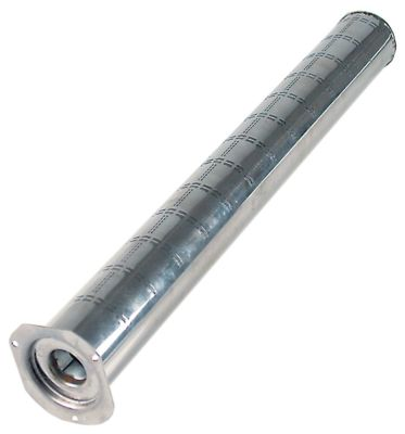 ράβδος καυστήρα ø 50mm W  -mm H  -mm Μ 450mm φλάντζα με μπουλόνι M4 πλάτος φλάντζας 65mm