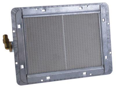 καυστήρας κεραμικός Μ 237mm W 173mm εύρος πυροδότησης 178x125 mm