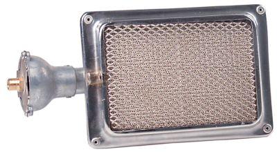 καυστήρας κεραμικός Μ 203mm W 143mm εύρος πυροδότησης 160x109 mm