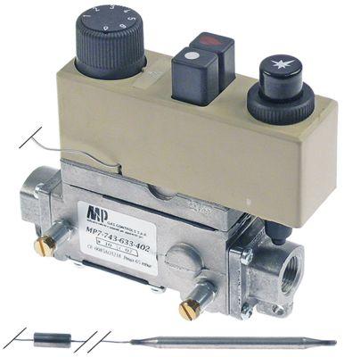 θερμοστατική βαλβίδα αερίου τύπος 7743-633-402  Μέγ. Θ 300°C 170-300 °C είσοδος αερίου 3/8
