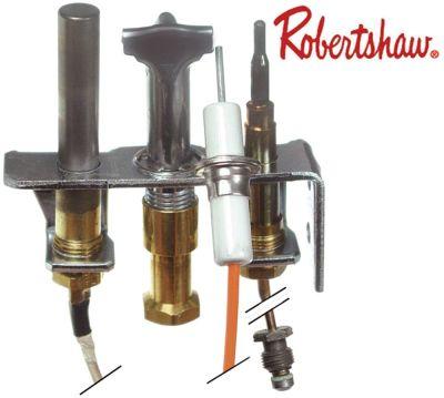 πιλότος καυστήρα ROBERTSHAW  τύπος 4SHR-44  3 φλόγες LPG κωδικός 16 για ø σωλήνα 1/4