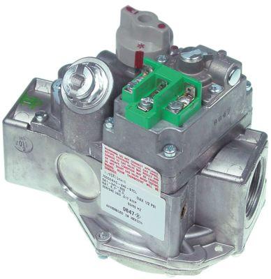 βαλβίδα αερίου παροχή 208/240 VAC 50/60 Hz είσοδος αερίου 1