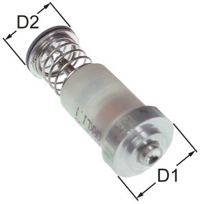 μαγνητική επαφή Μ 43mm ø D1 19mm ø D2 15.5mm κατάλληλο για COPRECI