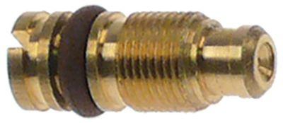 ακροφύσιο bypass τύπος PEL22  εσωτερική ø 0mm σπείρωμα M6x0,5