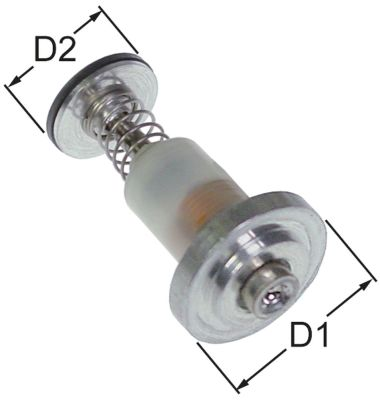 μαγνητική επαφή Μ 32mm ø D1 19mm ø D2 14mm κατάλληλο για MERTIK