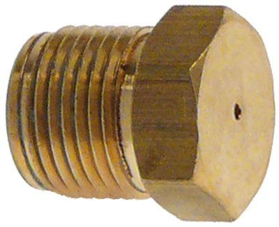 ακροφύσιο αερίου σπείρωμα M12x1  ΜΚ 13 εσωτερική ø 0.8mm