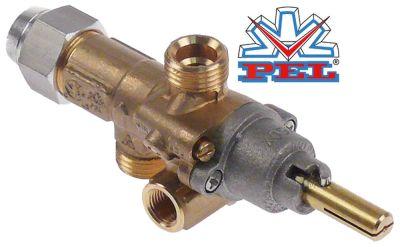 βαλβίδα αερίου PEL  τύπος 21S  είσοδος αερίου M16x1.5 (σωλήνας ø 10mm)