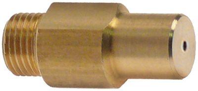 ακροφύσιο αερίου σπείρωμα M10x1  ΜΚ 11 εσωτερική ø 2.2mm Μ 30mm