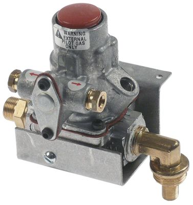 βαλβίδα ασφαλείας BASO  τύπος H15HR-3  εύρος πίεσης 34,5mbar