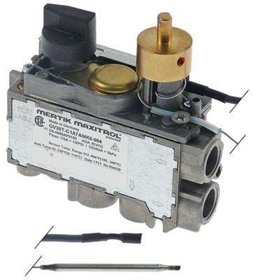 θερμοστατική βαλβίδα αερίου MERTIK  τύπος GV30T  Μέγ. Θ 340°C 100-340 °C είσοδος αερίου κάτω 3/8
