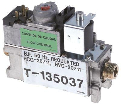 βαλβίδα αερίου τύπος VR4605V  είσοδος αερίου 1/2″  έξοδος αερίου 1/2″  230V LPG 50Hz