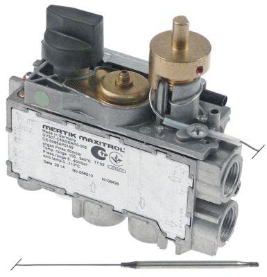 θερμοστατική βαλβίδα αερίου MERTIK  τύπος GV30T-C5AGEAK0-001  Μέγ. Θ 340°C 100-340 °C