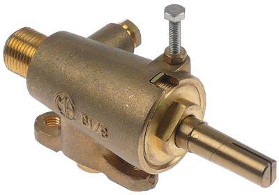 βαλβίδα αερίου GAI  είσοδος αερίου φλάντζα σωλήνα ø30mm