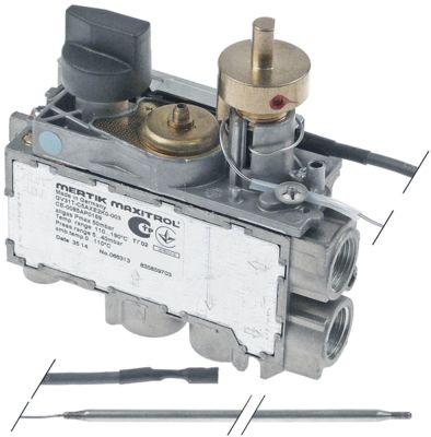 θερμοστατική βαλβίδα αερίου MERTIK  τύπος GV31T-C5AXE2K0  Μέγ. Θ 190°C 110-190 °C