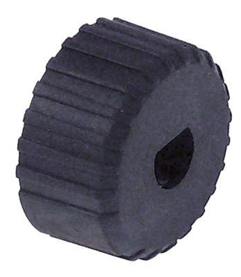 αντάπτορας κομβίου πάχος 14mm ΕΞ. ø 26mm άξονας 8x6,5 mm πλαστικό