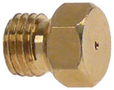 ακροφύσιο αερίου σπείρωμα M6x0,75  ΜΚ 7 εσωτερική ø 0,9mm