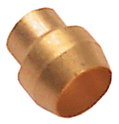 δακτύλιος κοπής για ø σωλήνα 6mm  Ποσ. 5 τεμ. κατάλληλο για σειρά 160  για πιλότο καυστήρα