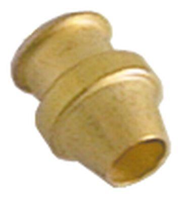 δακτύλιος κοπής για ø σωλήνα 4mm  Ποσ. 5 τεμ. για πιλότο καυστήρα