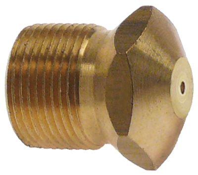 ακροφύσιο αερίου σπείρωμα M15x1  εσωτερική ø 1,30mm ΜΚ 17