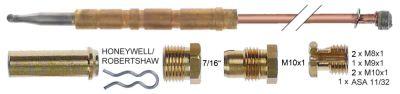 σετ θερμοκόπιες 11 τεμαχίων Μ 1200mm σύνδεση βύσματος ø6,0mm