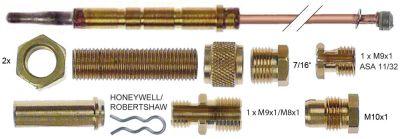 σετ θερμοκόπιες 13 τεμαχίων Μ 900mm σύνδεση βύσματος ø6,0mm