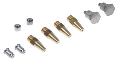 ακροφύσια αερίου σετ LPG G2865  κατάλληλο για FALCON