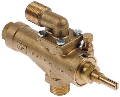 βαλβίδα αερίου GAI  είσοδος αερίου 1/2″ (σωλήνας ø 13mm)