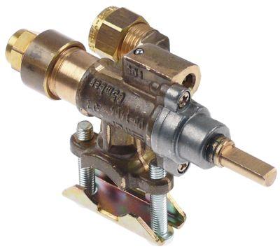 βαλβίδα αερίου SIRAL  τύπος 06-1464  είσοδος αερίου φλάντζα σωλήνα ø20mm