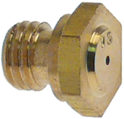 ακροφύσιο αερίου σπείρωμα M7x1  ΜΚ 10 εσωτερική ø 0,5mm