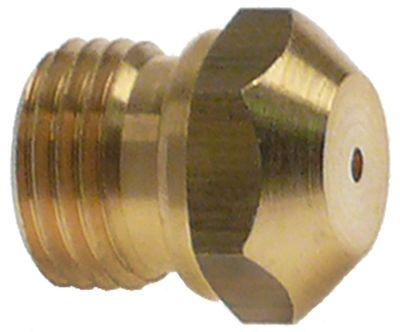 ακροφύσιο αερίου σπείρωμα M10x1  ΜΚ 11 εσωτερική ø 0.5mm