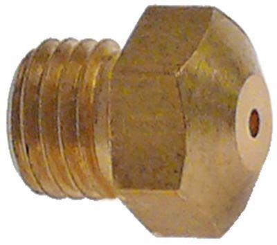 ακροφύσιο αερίου σπείρωμα M8x1  ΜΚ 10 εσωτερική ø 1,05mm