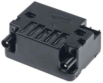 γεννήτρια σπινθηριστή έξοδοι 2 230VAC  διαστάσεις 85x63x38 mm απόσταση στερέωσης 60mm