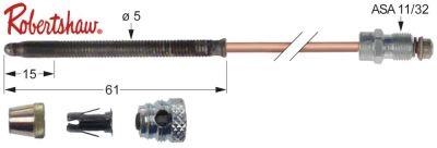 θερμοκόπια ROBERTSHAW  5 τεμαχίων Μ 18″ - 455 mm ASA 11/32