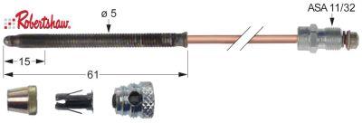 θερμοκόπια ROBERTSHAW  5 τεμαχίων Μ 72″ - 1825 mm ASA 11/32