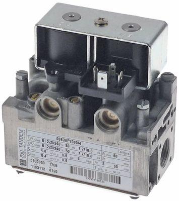 βαλβίδα αερίου 230V 50Hz είσοδος αερίου 1/2