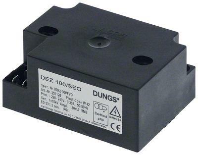 γεννήτρια σπινθηριστή έξοδοι 1 220-240VAC  διαστάσεις 84x62x38mm απόσταση στερέωσης 58mm