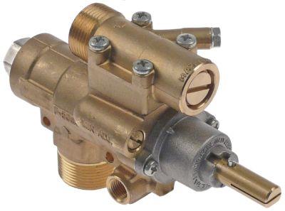βαλβίδα αερίου AB  τύπος A63  είσοδος αερίου M28x1.5 (σωλήνας ø 20mm)