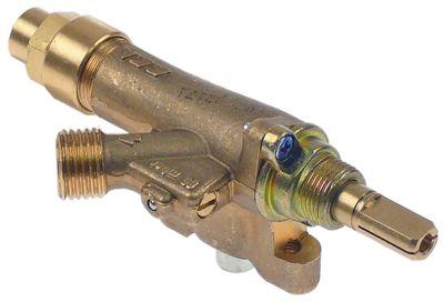 βαλβίδα αερίου ECA  είσοδος αερίου φλάντζα σωλήνα ø21mm
