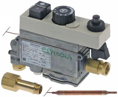 θερμοστατική βαλβίδα αερίου κιτ μετατροπής τύπος CR640  είσοδος αερίου 1/2