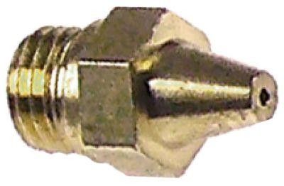 ακροφύσιο αερίου σπείρωμα M6x0,75  ΜΚ 7 εσωτερική ø 0.7mm Ποσ. 10 τεμ.