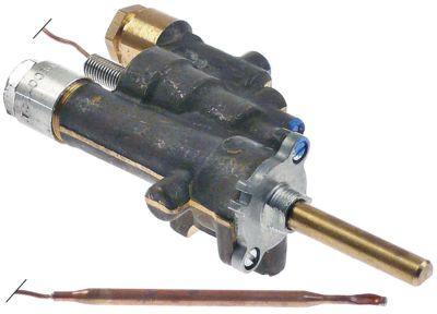 θερμοστατική βαλβίδα αερίου COPRECI  τύπος GT-354  είσοδος αερίου φλάντζα σωλήνα ø21mm