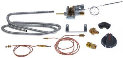 θερμοστατική βαλβίδα αερίου COPRECI  κιτ τύπος MT7200  είσοδος αερίου φλάντζα σωλήνα